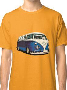 VW Bus Cool Blue Classic T-Shirt