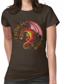 Critical Hit! Womens Fitted T-Shirt