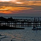 Frankston Sunset by Tom Newman
