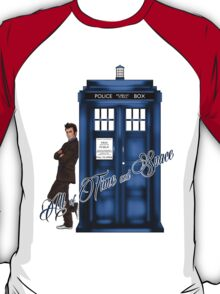 Doctor Who - All of Time and Space T-shirt T-Shirt