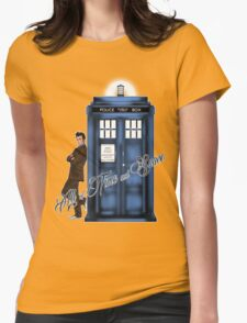 Doctor Who - All of Time and Space T-shirt Womens Fitted T-Shirt