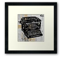 the underwood Framed Print