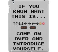 Konami Code iPad Case/Skin