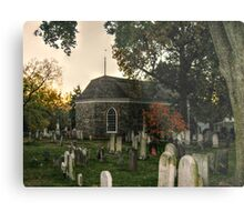 Old Dutch Reformed Church and Burial Ground, Sleepy Hollow, NY Metal Print