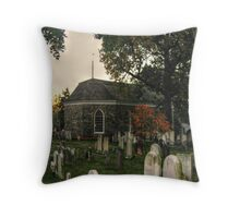 Old Dutch Reformed Church and Burial Ground, Sleepy Hollow, NY Throw Pillow