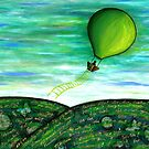 Come Fly With Me (square) by Lisa Frances Judd~QuirkyHappyArt