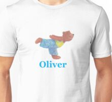 Oliver flying through the air like a seagull Unisex T-Shirt