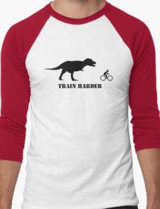 T-Rex Bike Training Men's Baseball ¾ T-Shirt