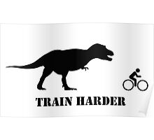T-Rex Bike Training Poster