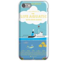 The Life Aquatic with Steve Zissou Poster iPhone Case/Skin