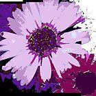 Daisy Abstract by Christina Herbert