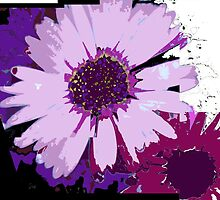 Daisy Abstract by Christina Herbert