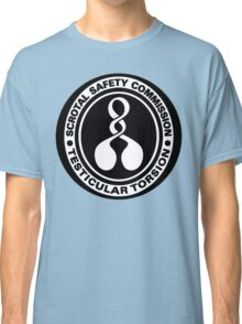 Scrotal Safety Commissioner Classic T-Shirt
