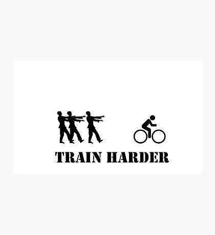 Zombie Bike Training Photographic Print