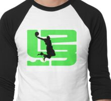 lebron dunkman 9 Men's Baseball ¾ T-Shirt