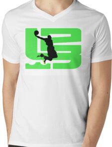 lebron dunkman 9 Mens V-Neck T-Shirt