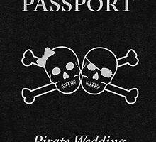 pirate wedding passport by maydaze