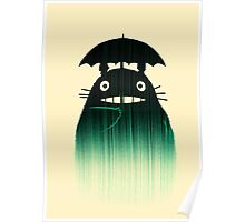 Waiting for you in the rain Poster
