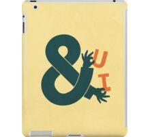 You and I iPad Case/Skin