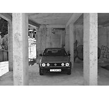 Vintage VW Photographic Print