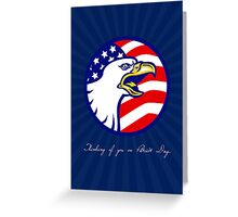 Thinking of You on Patriot Day Card Greeting Card
