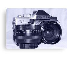 Retro SLR Film Camera Canvas Print