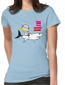 The Bradley Initiative - Moon's stuck in the sky Womens Fitted T-Shirt