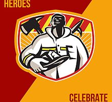 Remember Our Heroes Celebrate Patriot Day Poster by patrimonio
