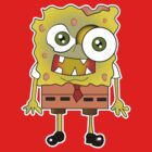 spongebob zombie by kennypepermans