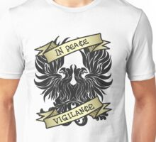 Dragon Age Origins - Gray Warden - In Peace Vigilance Unisex T-Shirt