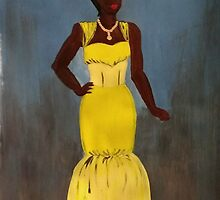 Lady in Yellow by Nafiisah Renshaw