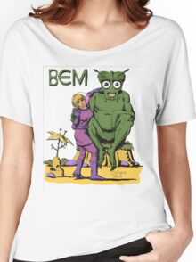 Bug Eyed Monster and Friend Women's Relaxed Fit T-Shirt