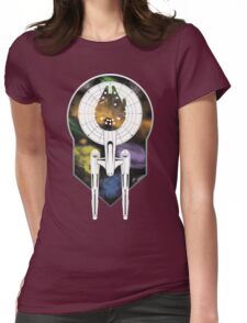 Enterprise Falcon Womens Fitted T-Shirt