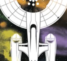 Enterprise Falcon Sticker