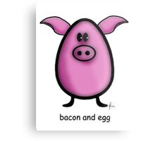 bacon & egg Metal Print