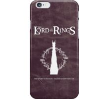 The Lord of the Rings : The End of the Third Age iPhone Case/Skin