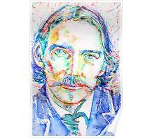 STEVENSON - portrait Poster