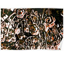 RED ARMY FLOWERS UPSIDE DOWN!!! Flowers Poster
