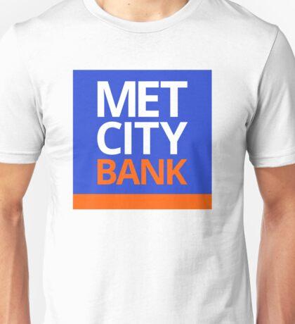 MET CITY BANK | Peep Show Unisex T-Shirt