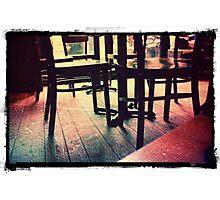 Retro Chairs Photographic Print