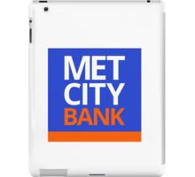 MET CITY BANK | Peep Show iPad Case/Skin