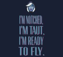 Dota 2 Drow Ranger - I'm notched, I'm taut, I'm ready to fly. by Namueh