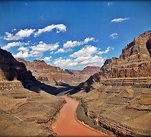 Grand Canyon Colorado River by Chris Roberts