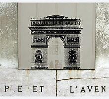 Arc De Triumphe, Paris by Claire McCall