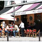 Paris Cafe by Claire McCall