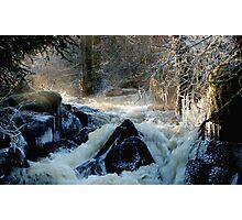 Swedish winter wonderland in ice Photographic Print
