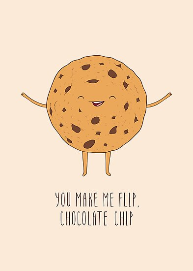 Chocolate Chip Cookie by Dinara May