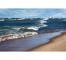 Race To Shore Photographic Print
