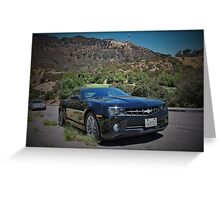 Hollywood Camaro Greeting Card