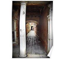 Venice Alleyway, Italy Poster